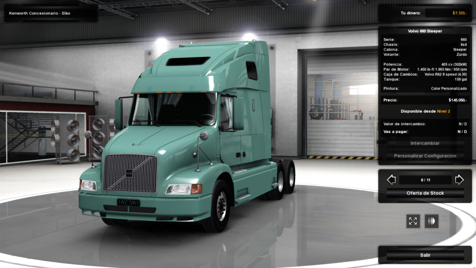 volvo vnl 660 for ats 1.3.x | american truck simulator mods | ats mods