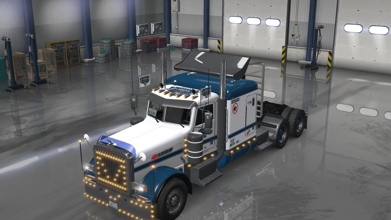 Updated UDL VTC Pete 389 Low Roof Sleeper Paint v1.02 • ATS mods ...