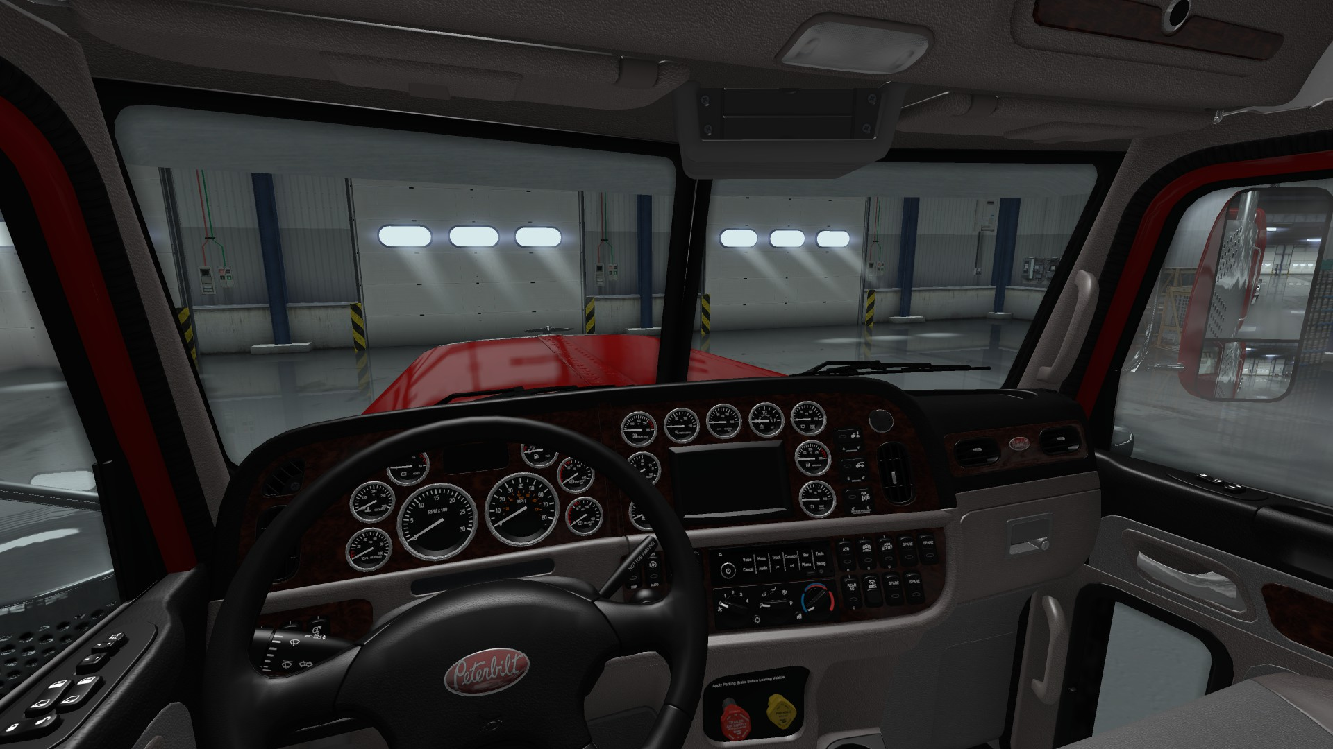 Peterbilt 389 Interior Exterior Rework V 1 0 Ats Mods American Truck Simulator Mods Atsmod Net