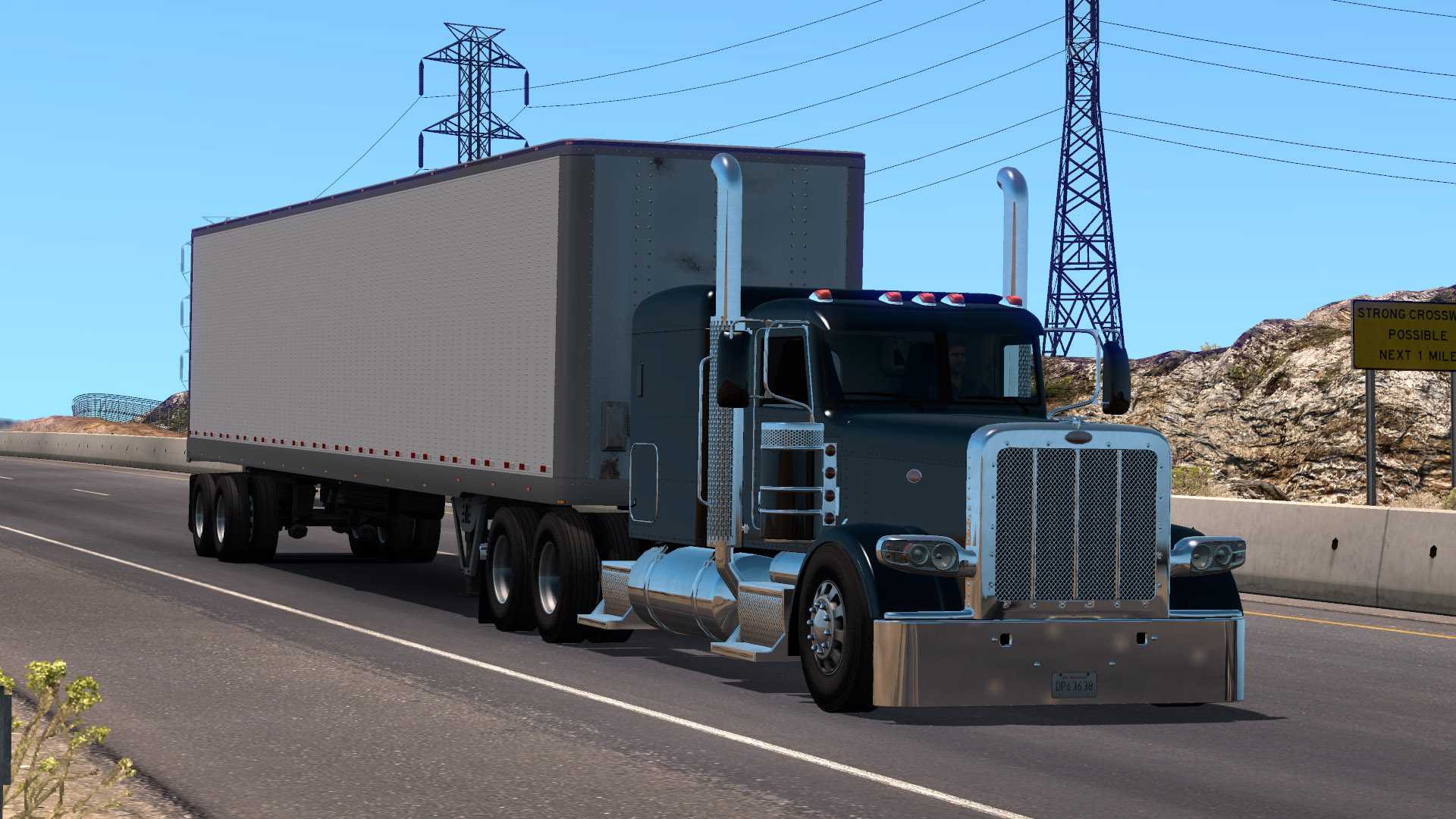 Peterbilt 389 Lowered Chassis V1 0 1 38 X Ats Mods American Truck Simulator Mods Atsmod Net