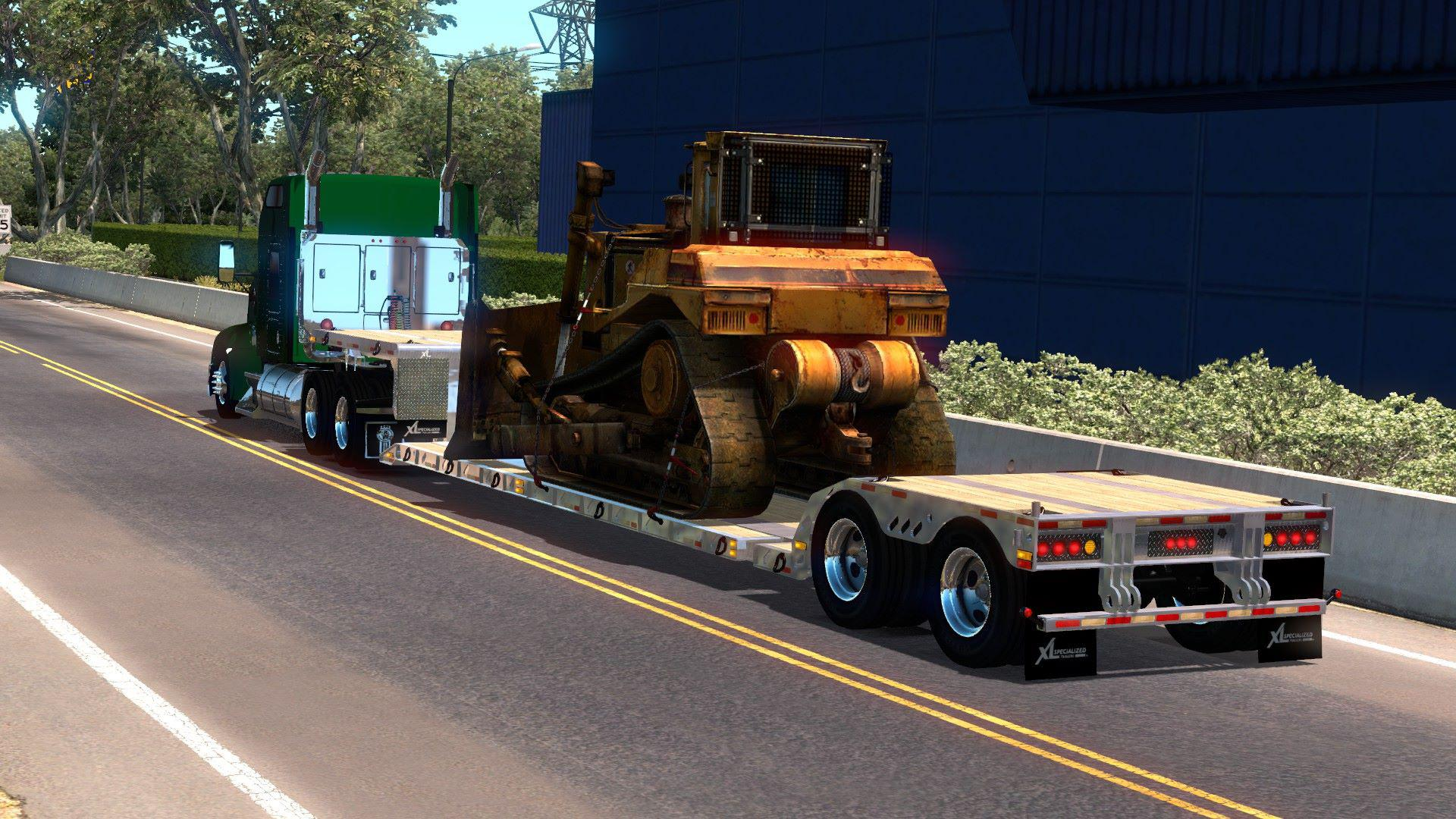 OWNABLE LOWBED XL 90 MDE V6 0 1 34 X • ATS mods | American truck