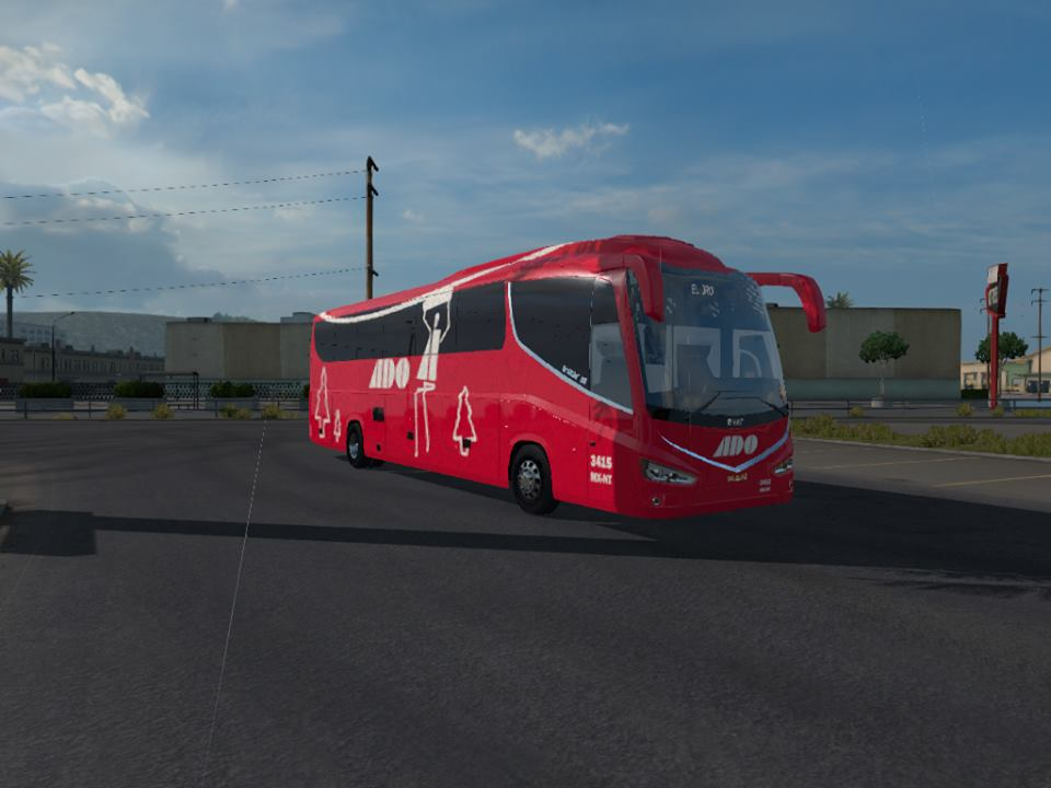 ATS] Bus Irizar i8 4×2 1 31 2 6 • ATS mods | American truck