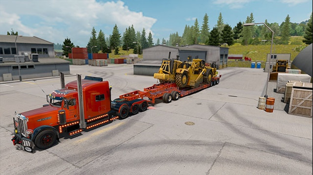 Heavy Haul for Special Transport DLC by Nizmo 1 32 • ATS mods