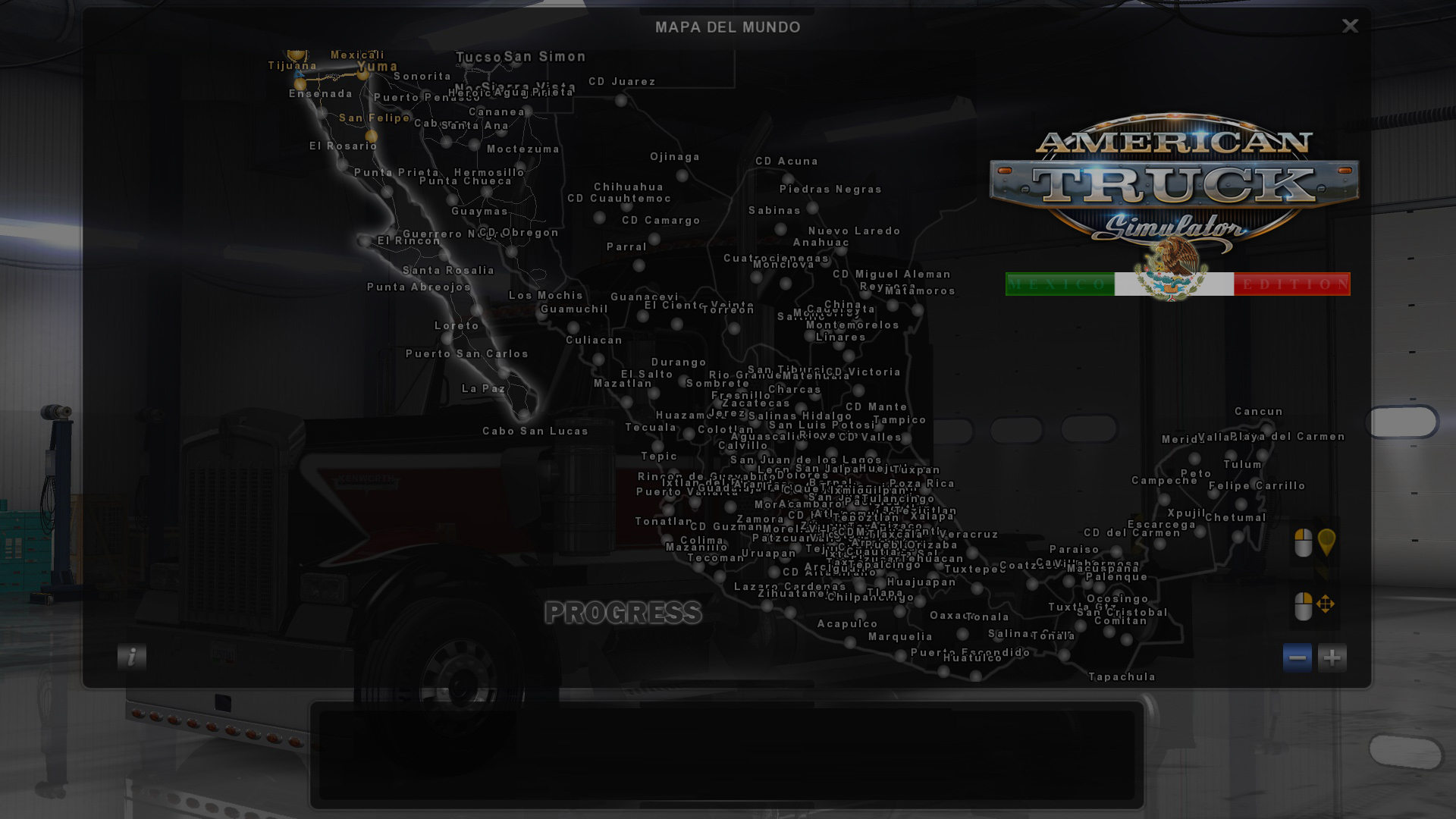 Viva Mexico Map v.1.0 (Baja California Sur) Project • ATS mods