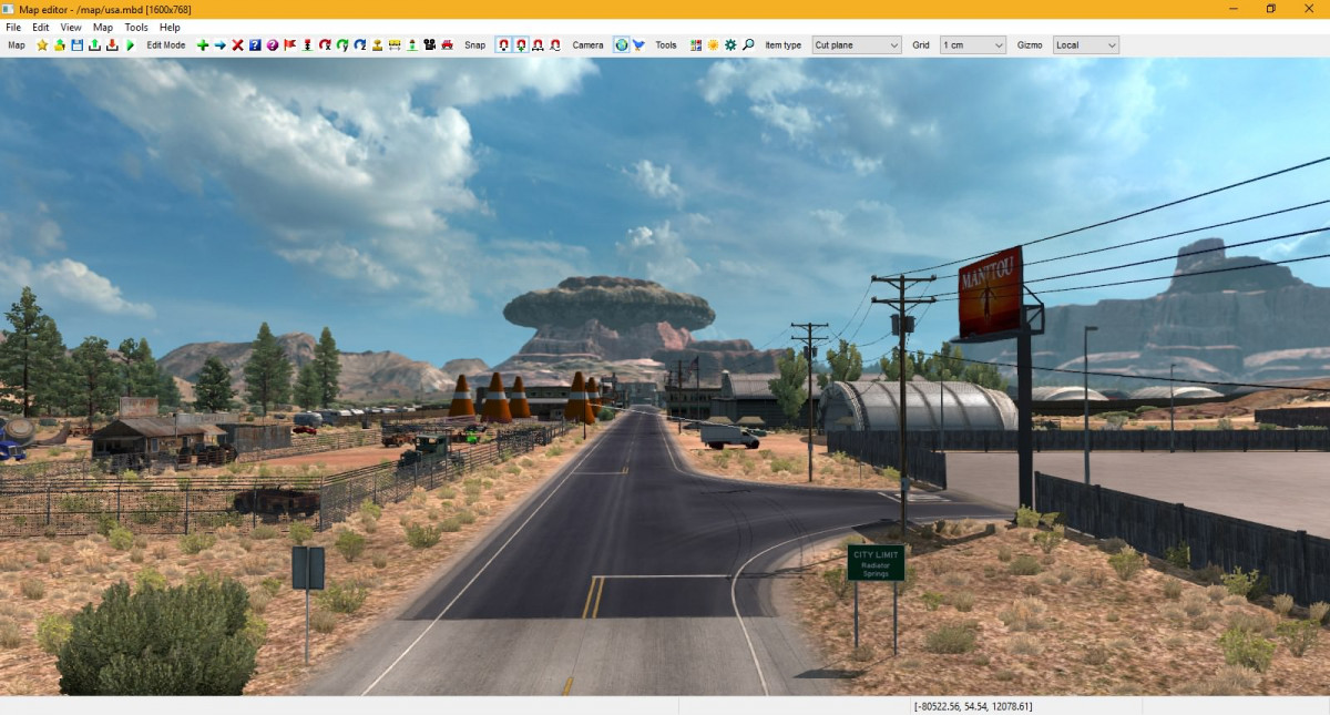 Radiator Springs add-on v1 1 (fixed) 1 32 • ATS mods