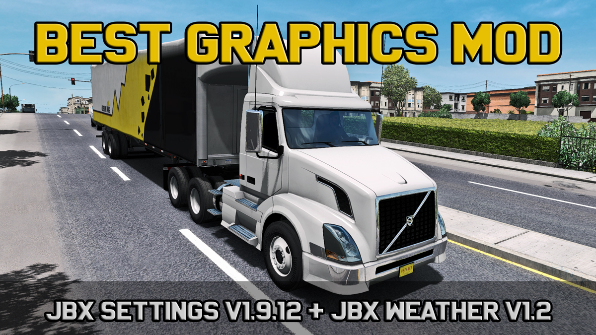 ATS] Realistic Lighting 2 JBX Settings v1 9 12 – Reshade – 2