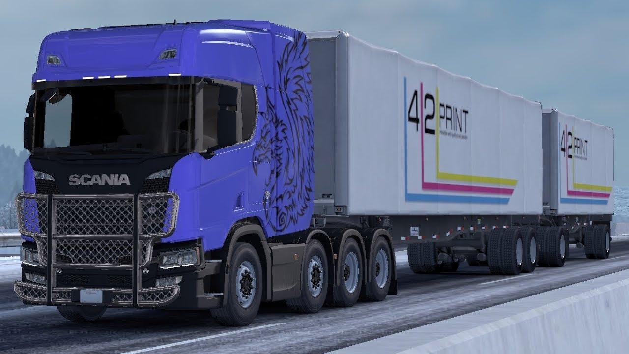 ATS] Scania Trucks Mod v2 0 by Frkn64 1 33 x • ATS mods