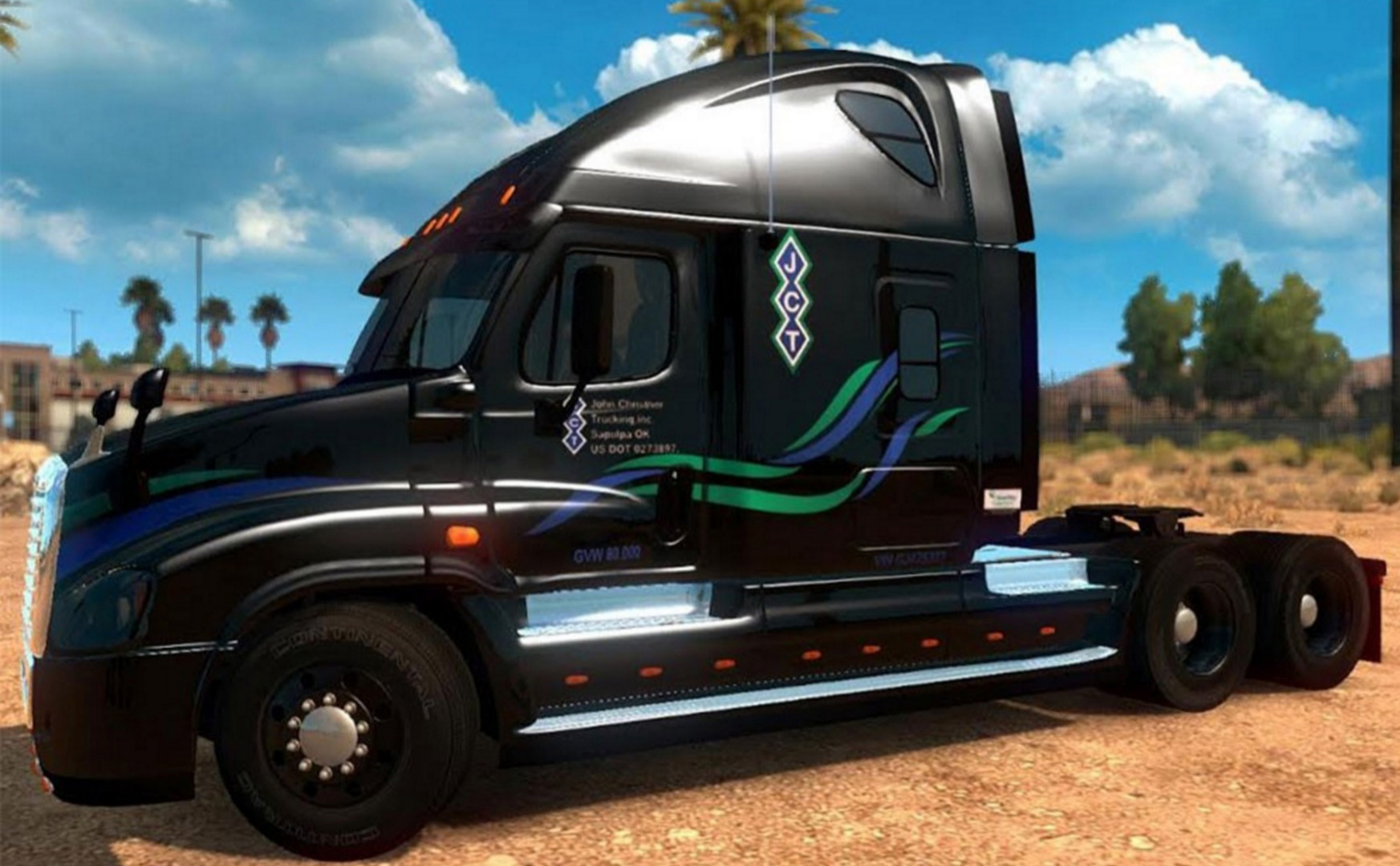 50 SKINS PACK FOR FREIGHTLINER CASCADIA 1 31 x • ATS mods
