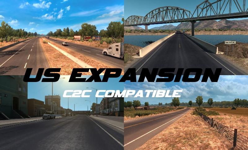 US Expansion v2.5 (Normal + C2C Compatible) 1.33.x • ATS ...