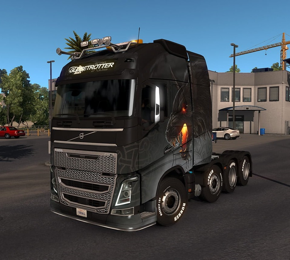Volvo Trucks Mod v3 8 [by Frkn64] 1 32 x • ATS mods | American truck