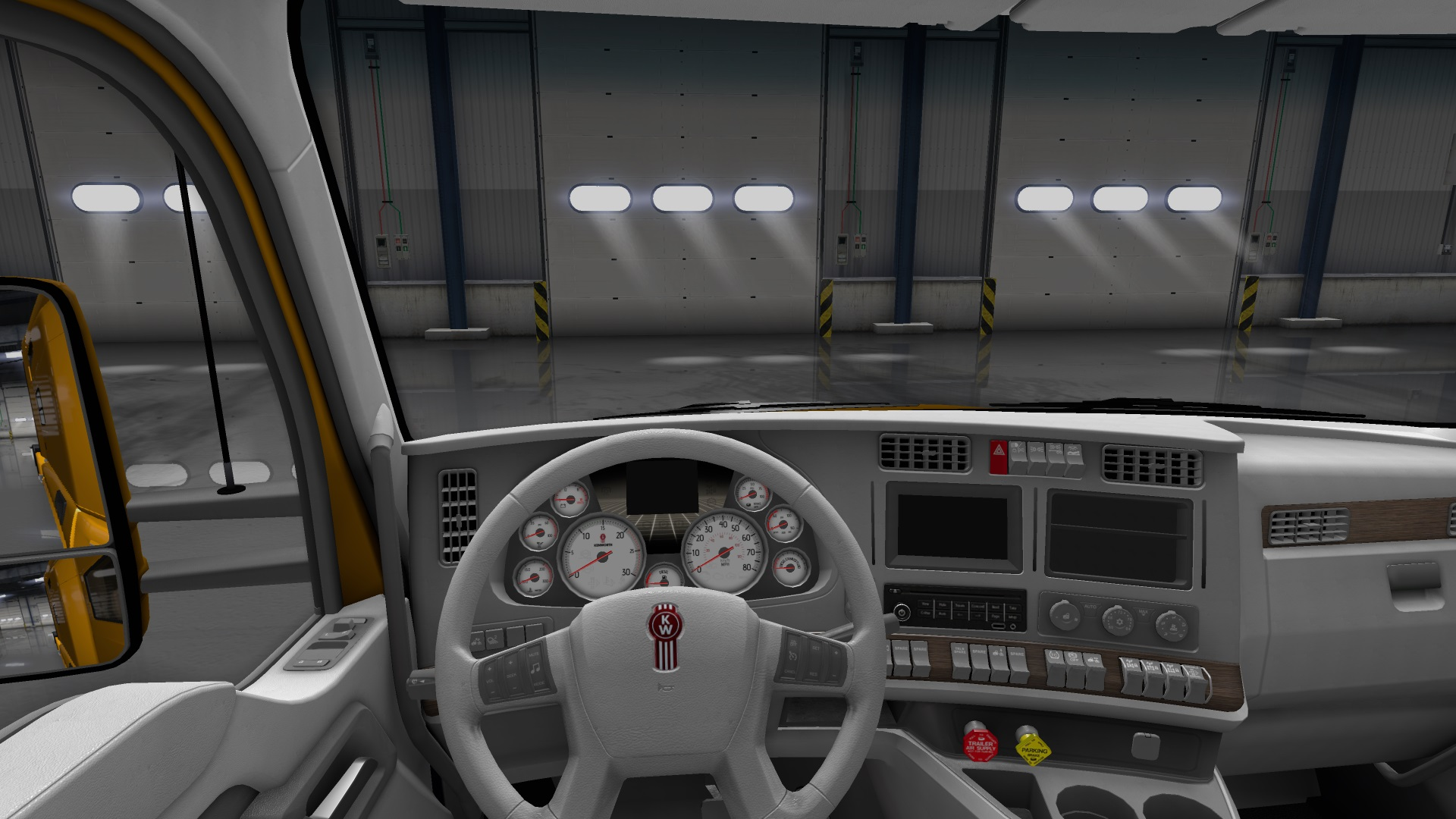 Elegant This Is A Skin Combination For Interior And Gauges Applicable To Kenworth  T680. Great Ideas