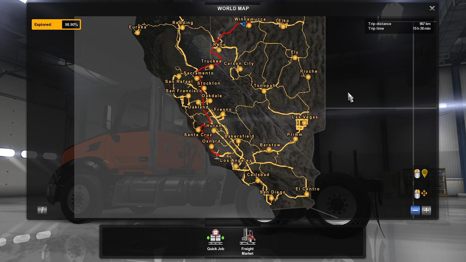 American Truck Simulator Map Sattelite Image Background For The Map. • ATS mods | American  American Truck Simulator Map