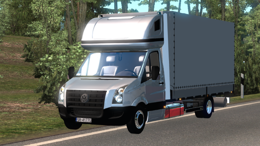 Dealer fix for Volkswagen Crafter 2 5 DCI • ATS mods | American