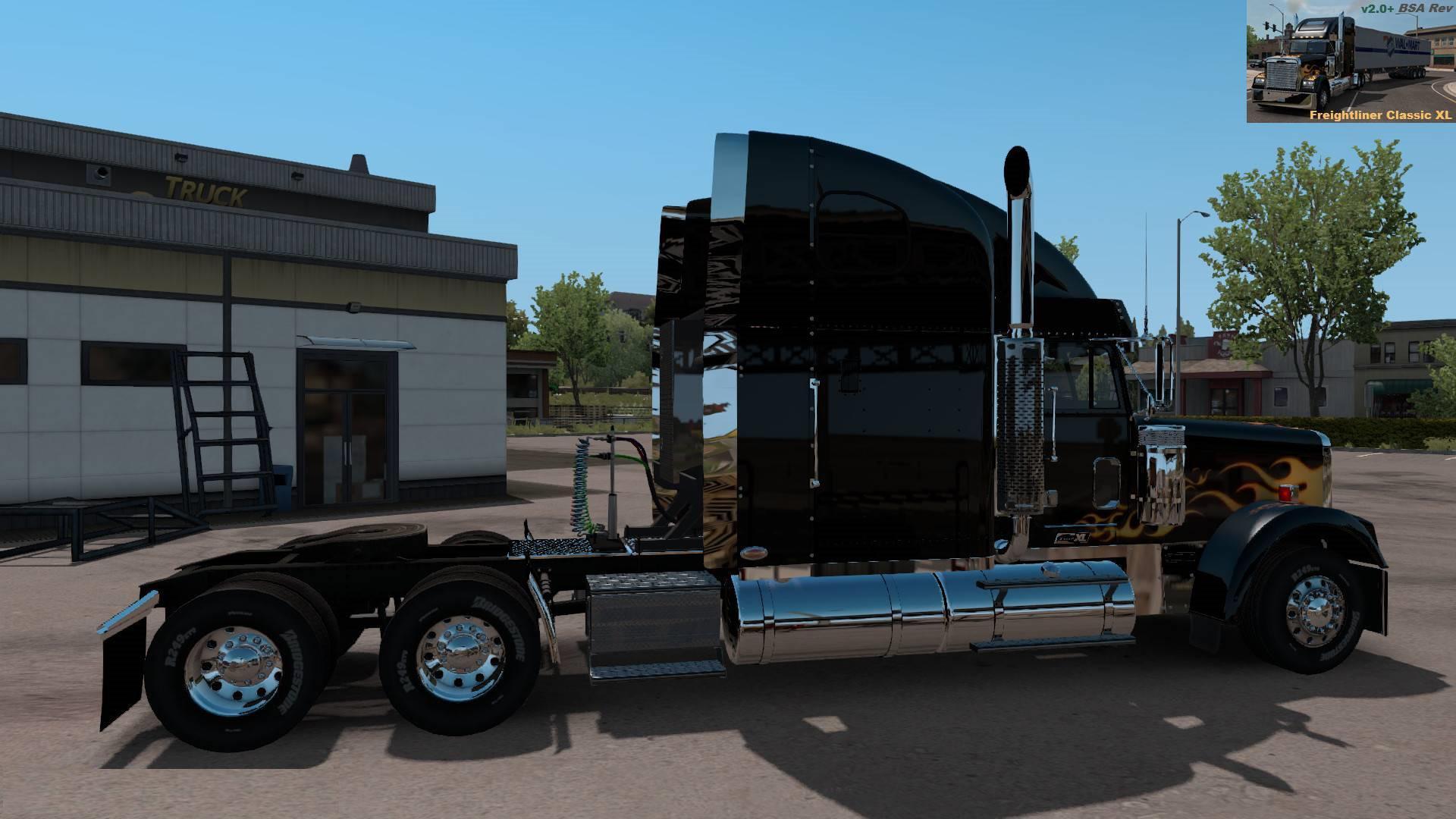 Freightliner Classic Xl V2 0 1 35 1 36 Ats Mods American Truck Simulator Mods Atsmod Net