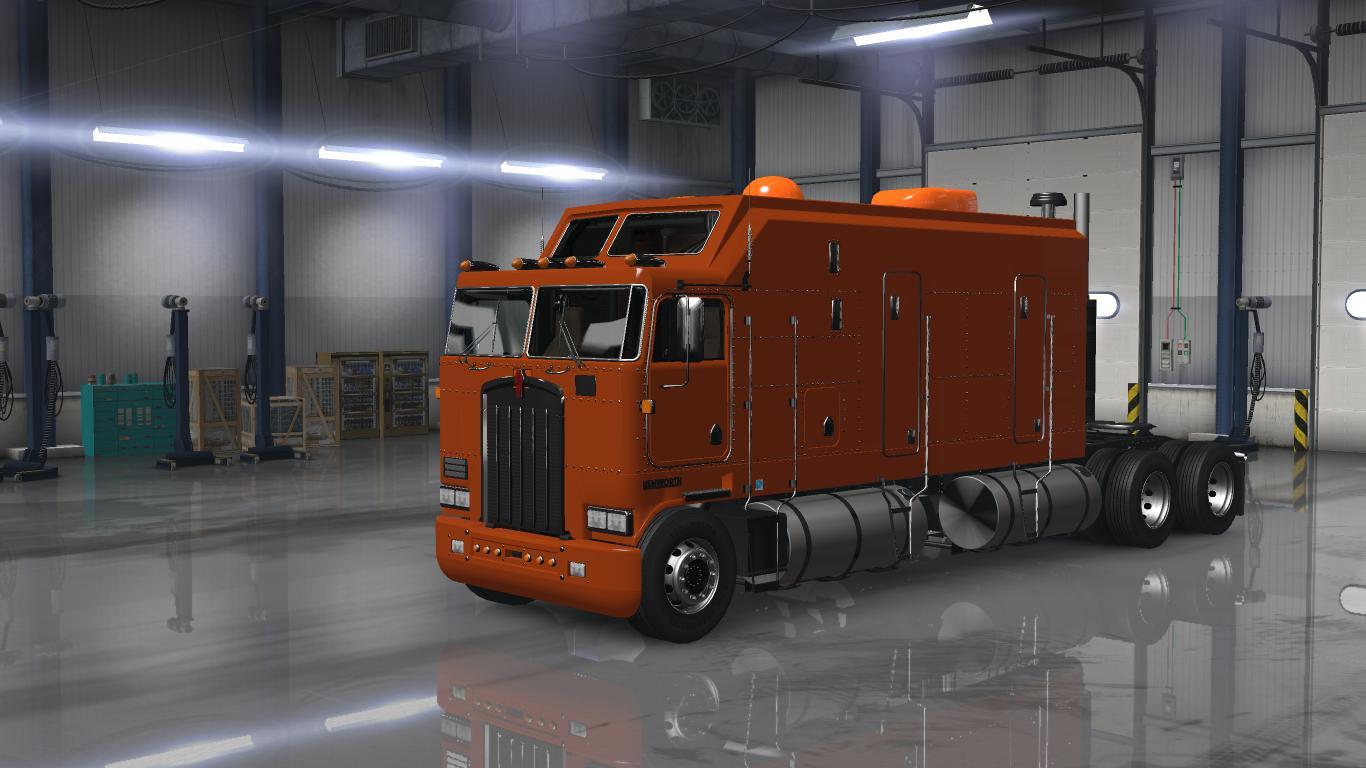 KENWORTH K100 COE 1 31 2 • ATS mods | American truck