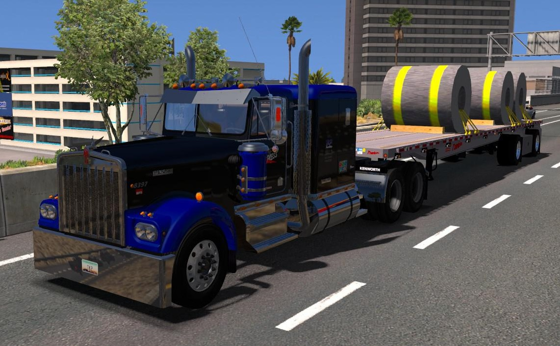 KENWORTH W900A [UPD  28 07 19] 1 35 X • ATS mods | American truck