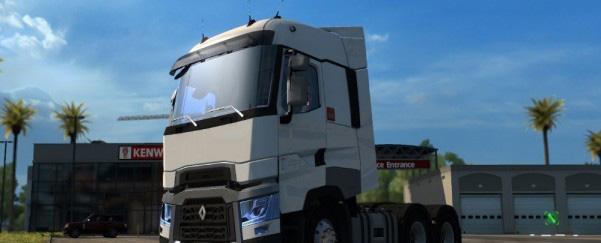 Renault T • ATS mods | American truck simulator mods