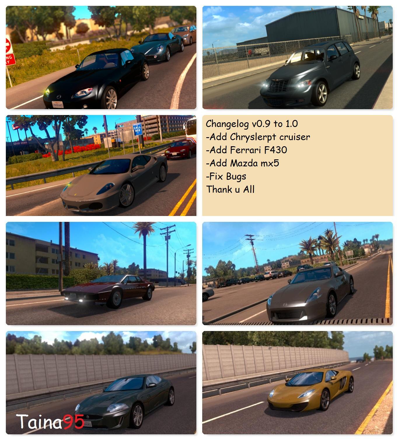 AI Traffic Mod Pack v 1 0 • ATS mods | American truck