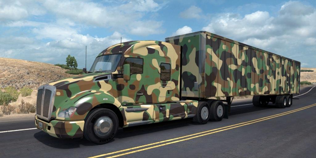 ats army trailer  u2022 ats mods