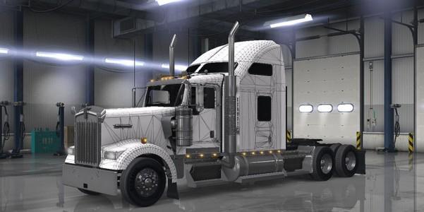 w900 skin w template ats mods american truck simulator mods