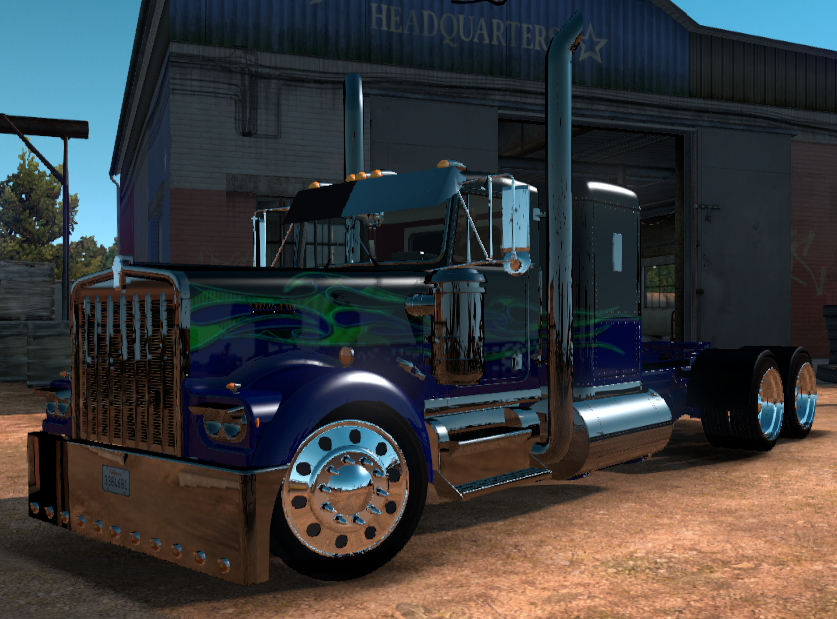 Kenworth W900a Custom Ats Mods American Truck