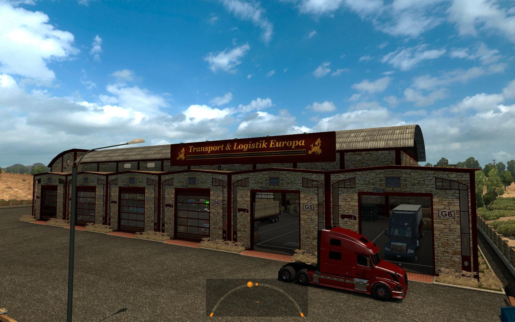 Garage t l europa ats mods american truck simulator mods for American garage builders