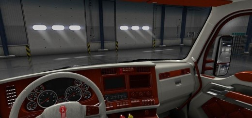 kenworth-t680-white-orange-interior_1