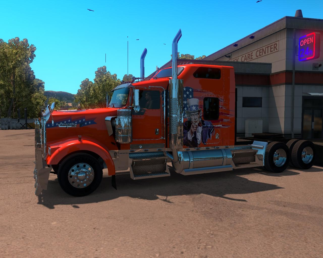 Kenworth W900 American Truck Skin • ATS mods   American