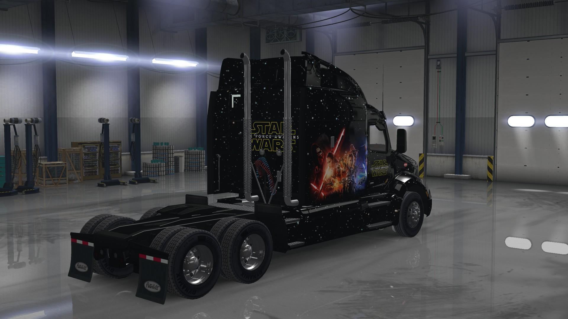 Star Wars force Awakens Pete 579 • ATS mods | American truck