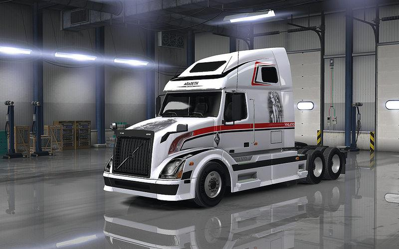VOLVO VNL 670 FOR ATS 1 23 • ATS mods | American truck