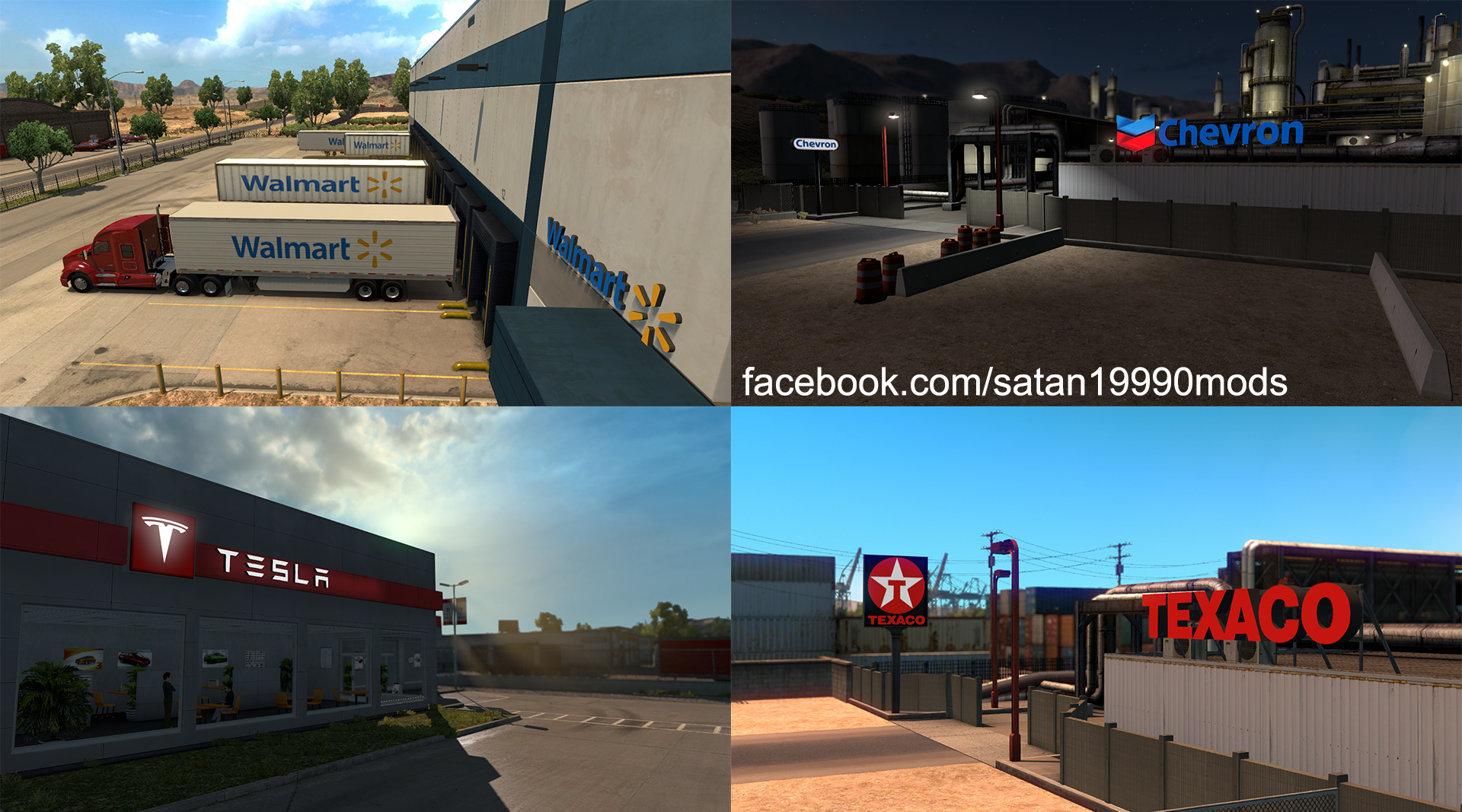 Walmart Oil Changes >> Real company logo v1.0 • ATS mods | American truck ...