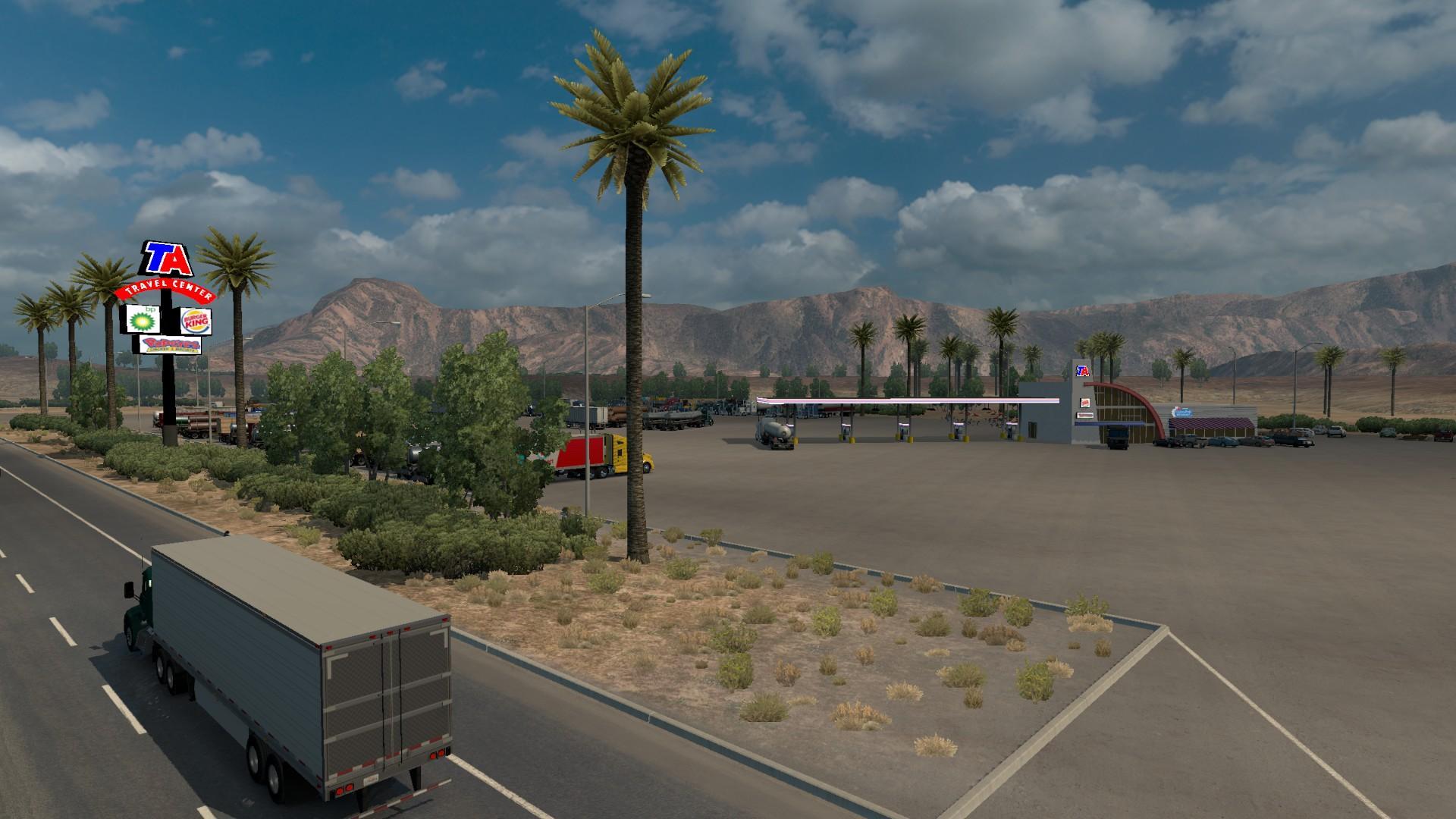 Ta Truck Stop >> Truckstop TA v 0.01 by DeXtor • ATS mods   American truck simulator mods