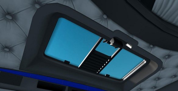 Blue-Interior-For-Kenworth-W900-mod