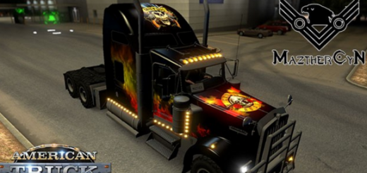 Kenworth-W900-Guns-and-Roses-Skin-mod-3