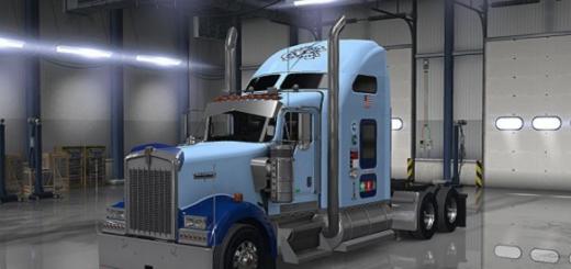 UNC-Tar-Heel-Truck-Skin-Ken-W900-UPDATE-mod-2