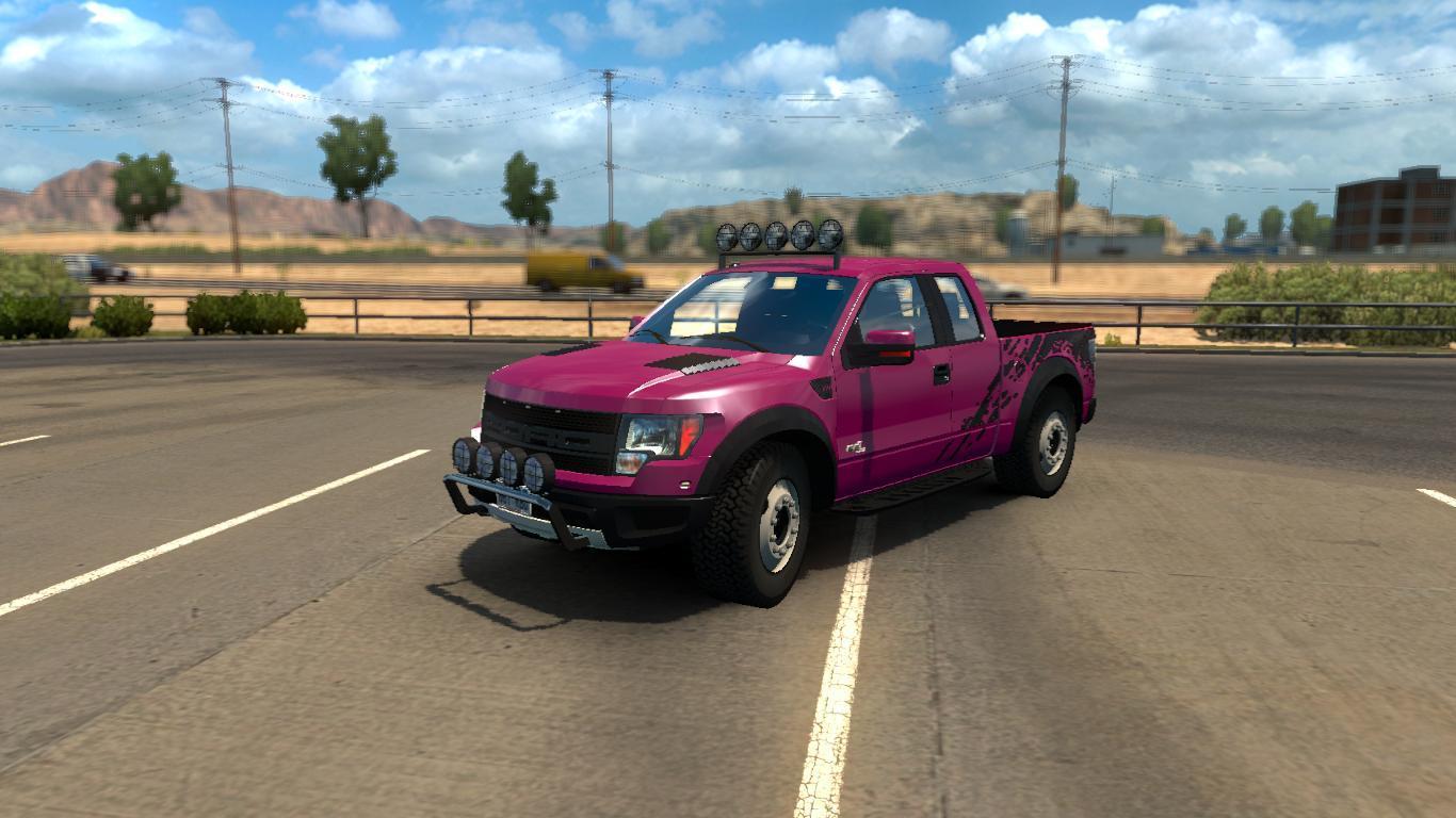 bca01ed77c Ford F150 SVT Raptor v1.42 • ATS mods