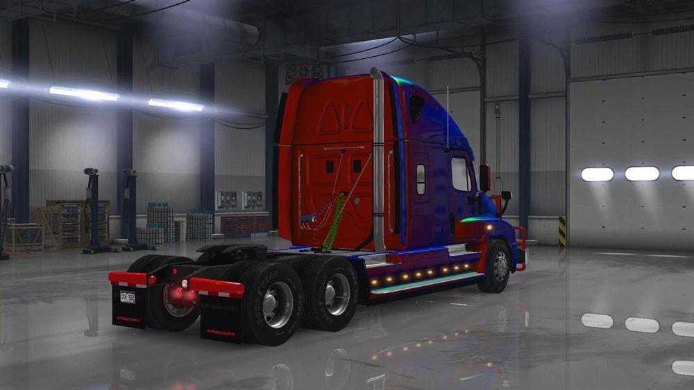 Freightliner Cascadia v 2 1 3 edited by Solaris36 • ATS mods