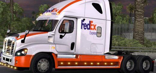 fedex-skin-for-freightliner-cascadia_1