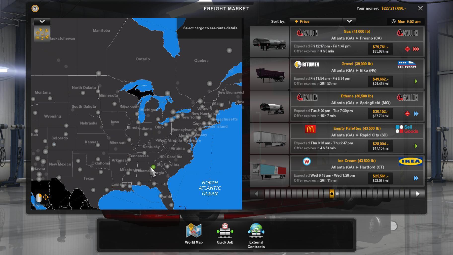 American Truck Simulator Map 508 Map Mix XXL Beta for 1.4.X • ATS mods | American truck  American Truck Simulator Map