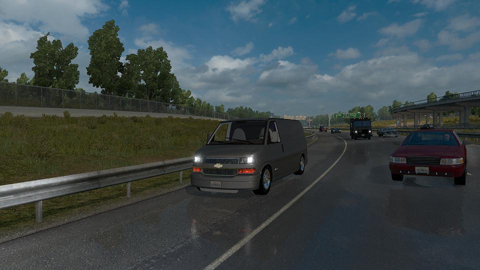 2016 Chevy Express >> Chevrolet Express Beta V1 ATS • ATS mods | American truck simulator mods