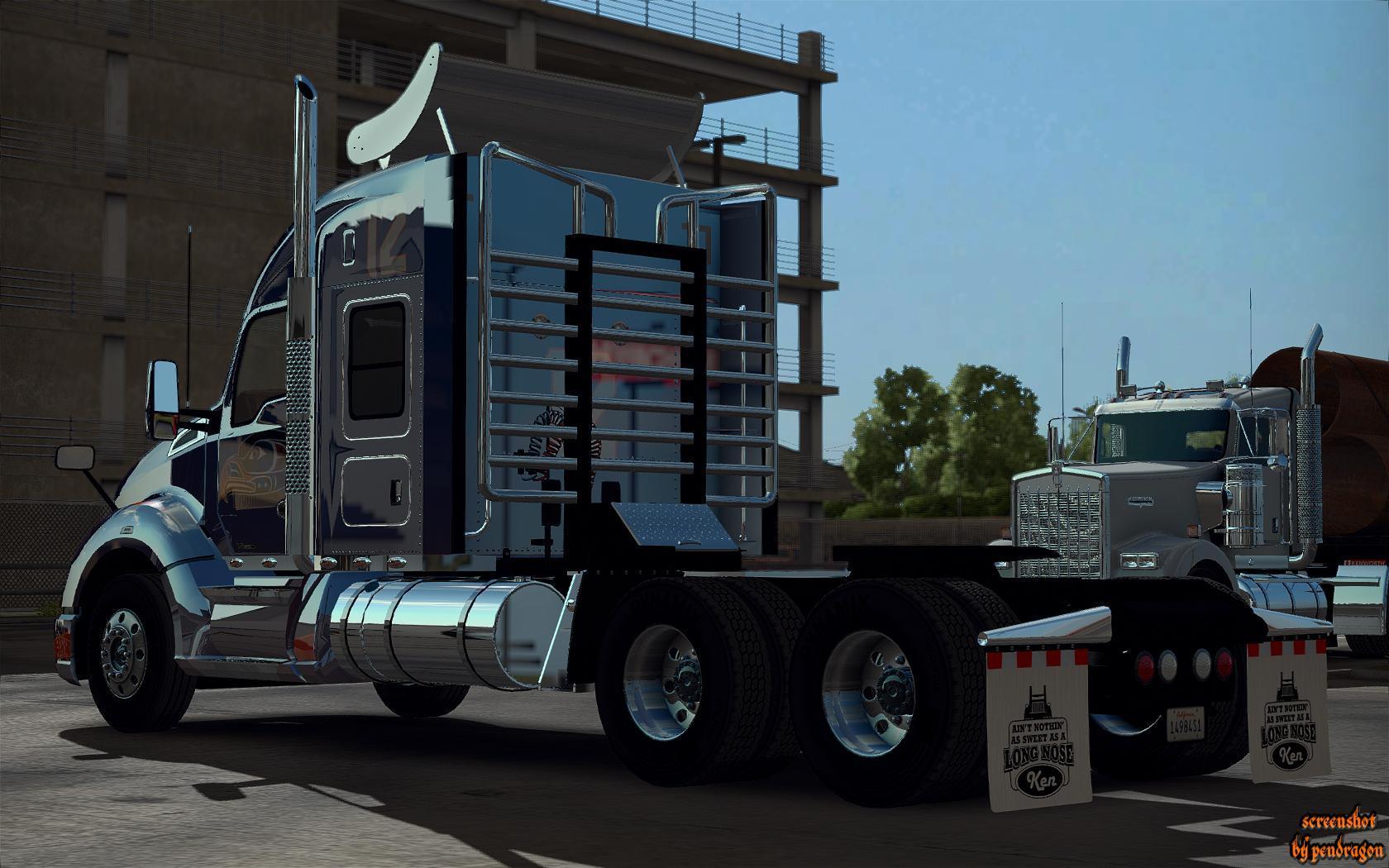 SCS trucks extra parts v1 5 1 • ATS mods | American truck