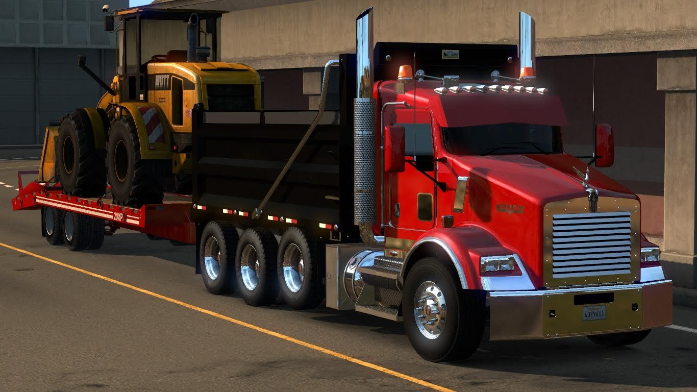 Kenworth T800 2016 Edit v2.0 • ATS mods | American truck ...Kenworth Dump Trucks Graphics