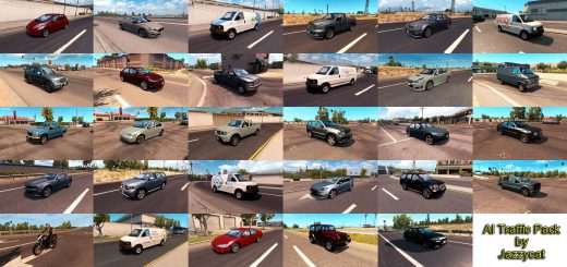 Flat Out 2 Car Transporter Cargo Pack • ATS mods | American