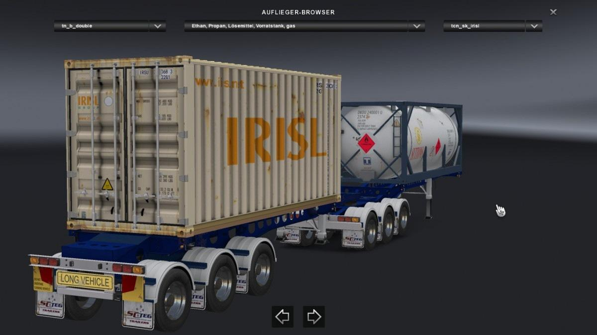 Kenworth Box Truck >> CONTAINER SKIN EDIT FOR THE SOUTHERN CROSS B-DOUBLE FROM ...