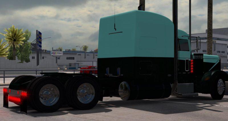 Green-Blue-Peterbilt-skin-Mod-1