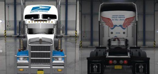kenworth-w900-united-states-postal-service-skin-v-1-0_1