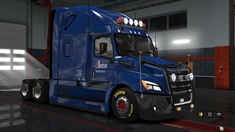 fix freightliner cascadia 2018 for ats mods. Black Bedroom Furniture Sets. Home Design Ideas