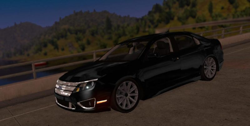 Ford Fusion Mods >> Ford Fusion 2 9 At 1 31 Ats Mods American Truck Simulator Mods