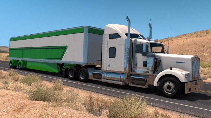 Custom 53 Trailer 1 32 X Ats Mods American Truck Simulator Mods