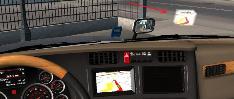 HEADS UP DISPLAY V1 0 1 30 X-1 32 X • ATS mods | American